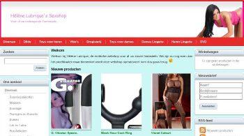 Webshop in erotische artikelen